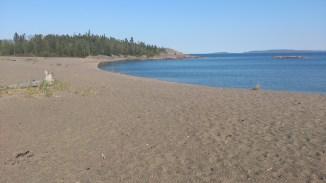 Terrace Bay Lake Superior Beach