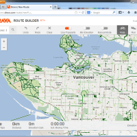 Strava's Crowdsourced Bike and Running Routes