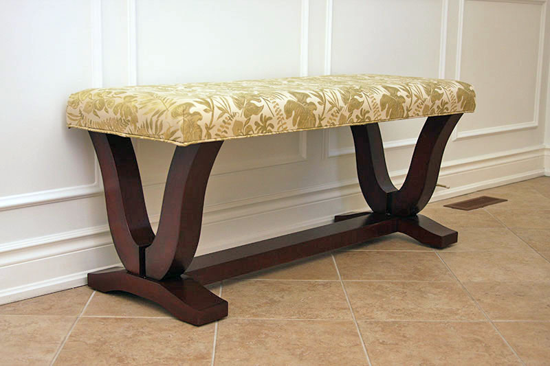 Coffee Oval Upholstered Table