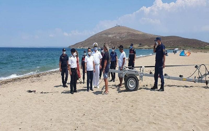 Bozcaada'da zıpkınla balık avlamak için denize giren kişi 2 gündür bulunamadı