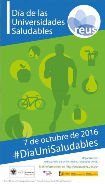 Cartel día de las Universidades Saludables