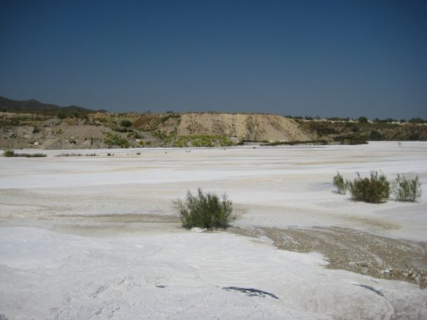 Balsa de lodos de mármol