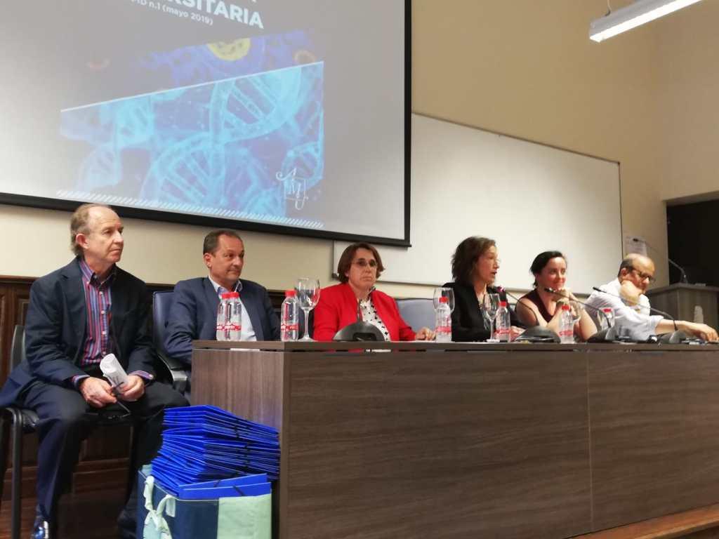 Mesa de clausura del proyecto, facultad de Traducción e Interpretación (TeI) de la Universidad de Granada