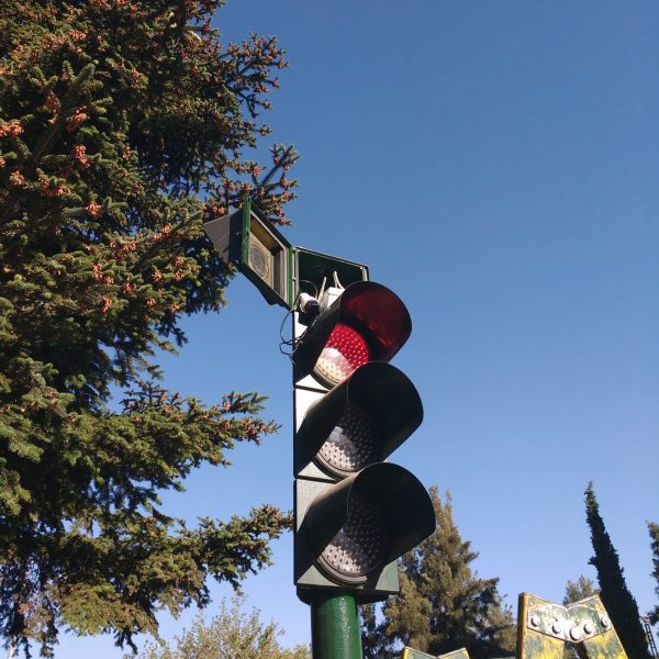 semáforo smart city