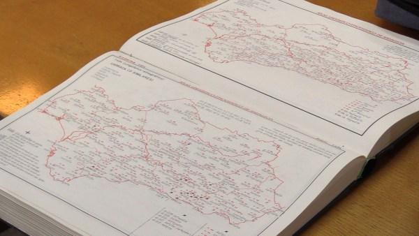 Imagen del 'Atlas lingüístico y etnográfico de Andalucía' (ALEA) de Manuel Alvar.