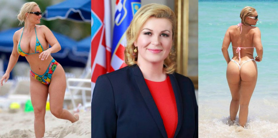 Image result for presidenta de croacia