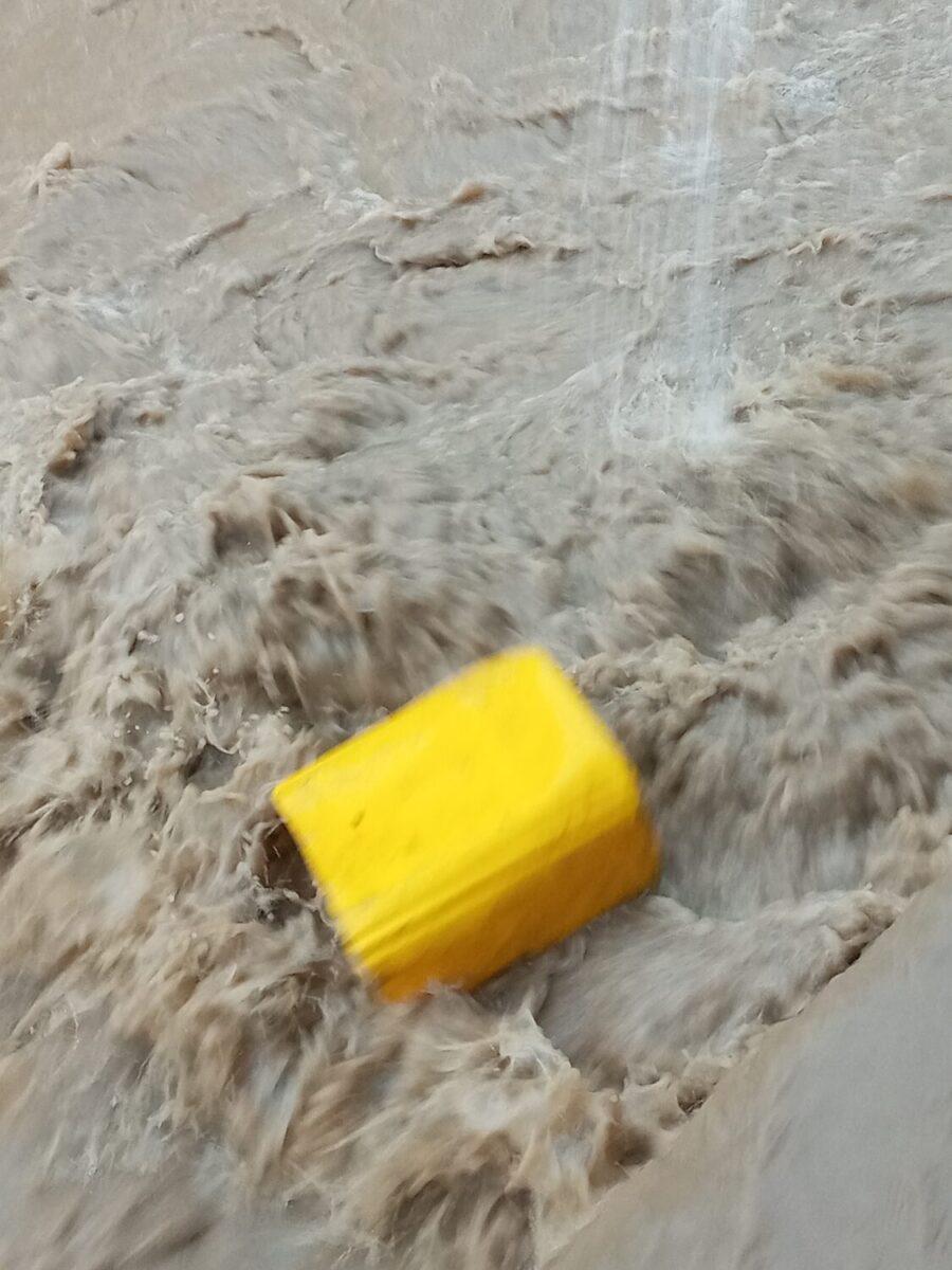 Image route inondée dakar.