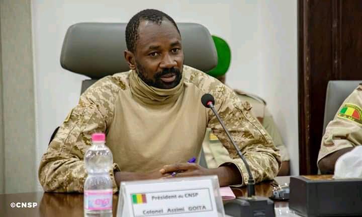 Photo d'un membre du CNSP Mali.