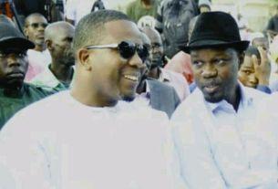 Bougane Gueye Dani et Ousmane Sonko