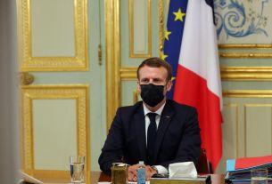 Photo Macron au palais France