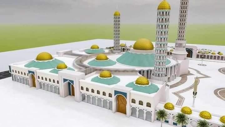 image mosquée de Tivaouane.