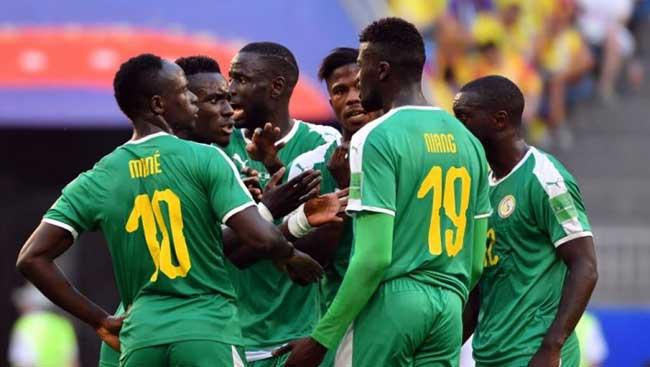 image des lions du Sénégal