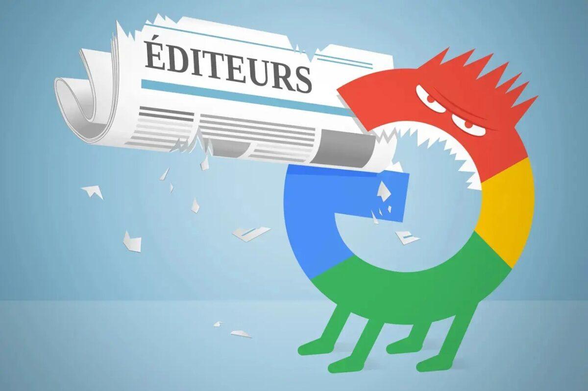 photo d'illustration Google et les droits voisins