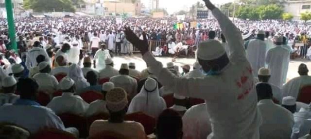 Manifestation à Dakar Place de l'Obélisque ff5