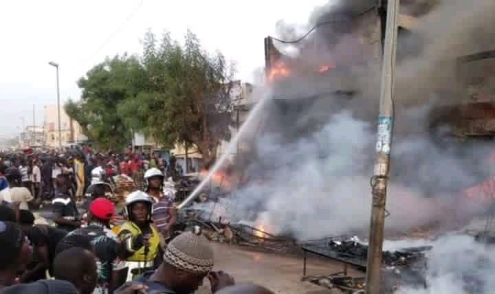 Image d'illustration de l'incendie à Touba.