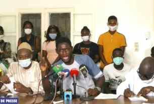 image de la conférence de presse du FNPES.