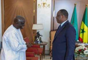 Idrissa Seck et Macky Sall au palais