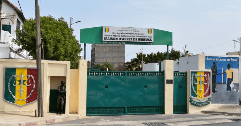 Photo Portail de la prison de Reubeuss à Dakar