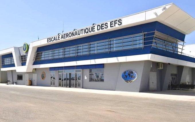 Photo de l'Escale aéronautique des Éléments français au Sénégal