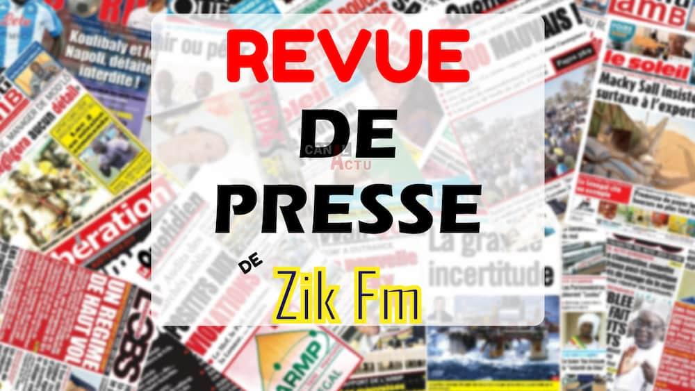 Image d'illustration Revue de presse de Zik FM.
