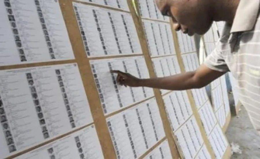 Audit du fichier électoral.