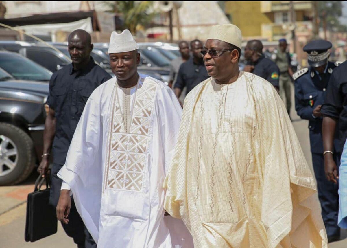 Macky sall et aly N. Ndiaye
