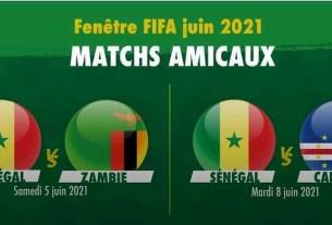 Match Sénégal juin 2021