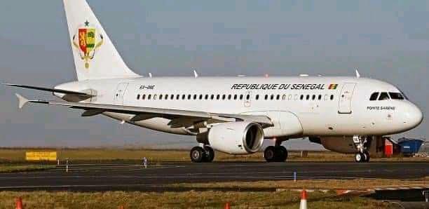 Avion présidentiel du Sénégal.