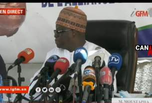 Moustapha Niass conférence de presse