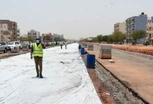 Sentier BRT à Dakar