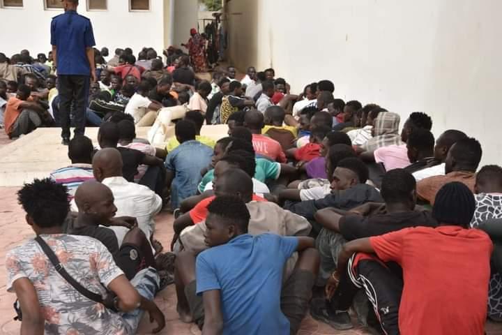 gendarmerie opération à Dakar