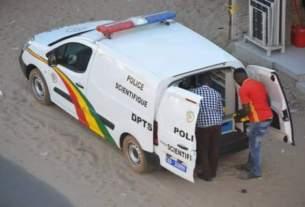 Une Voiture de la police scientifique Sénégal