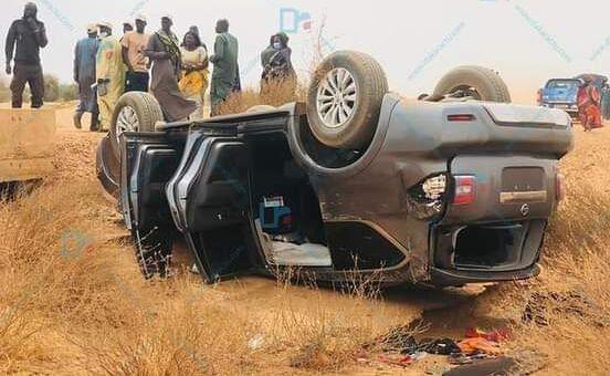 Accident tourée économique macky sall