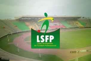 LSFP Ligue Sénégalaise de Foot Pro.