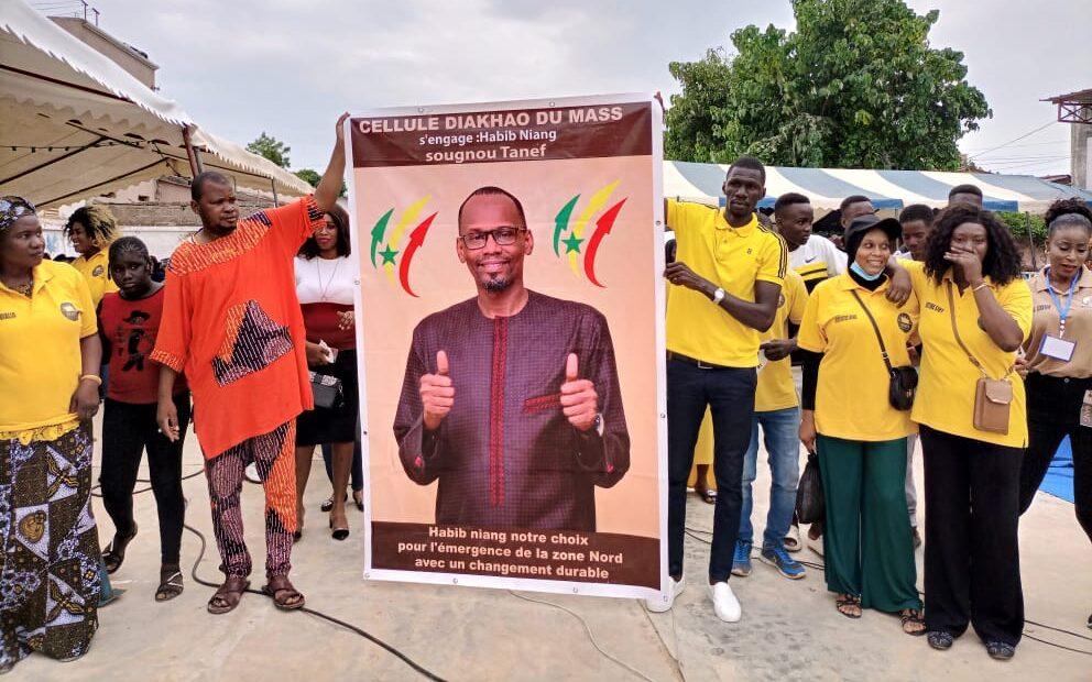 Mouvement de soutien Habib Niang à Thiès.