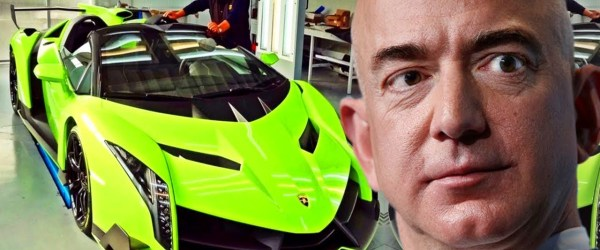 vende en amazon - regalan Lamborghinis