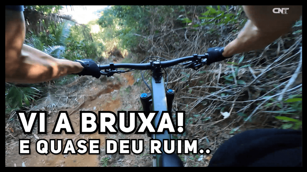 Trilha de Mountain Bike Enduro