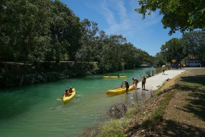 Embarcadère canal canoe La Rochelle