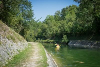 canal canoë La Rochelle