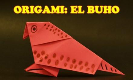 Origamis de Papel, Origami para Niños Facil El Buho