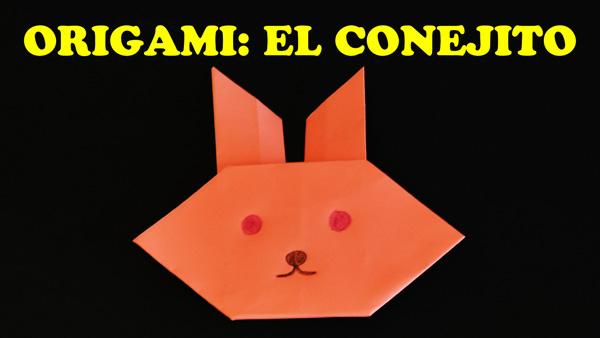 Manualidades con Papel, Origami para Niños Facil El Conejito