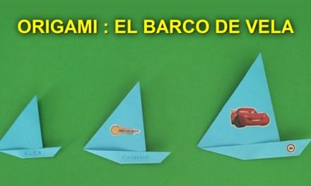 Manualidades de Papel, Origami Facil de Papel para Niños: Barco de Vela