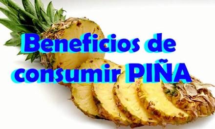 Beneficios de La Piña para la salud, Beneficios de comer PIÑA