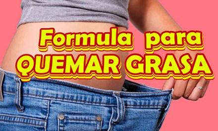 Formula para QUEMAR GRASA y como Bajar de Peso rapido