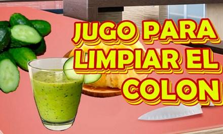 JUGO DE PIÑA Y PEPINO PARA LIMPIAR EL COLON Y ADELGAZAR RAPIDAMENTE