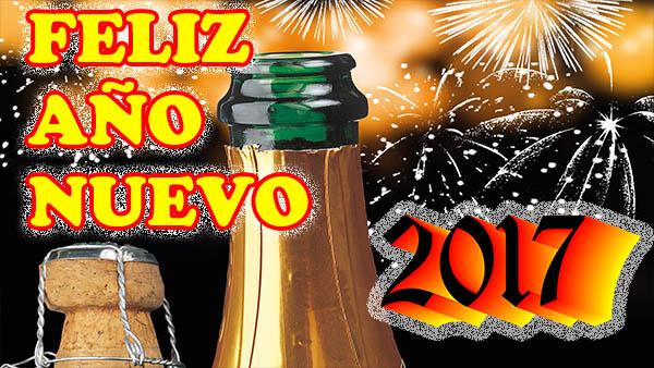 Feliz Año Nuevo 2017 con Frases de Felicitacion de Año Nuevo
