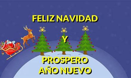Feliz Navidad 2016 y Prospero Año Nuevo 2017