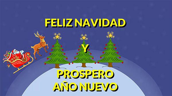 Feliz a o nuevo canal de entretenimiento y diversi n - Frases de feliz navidad y prospero ano nuevo ...