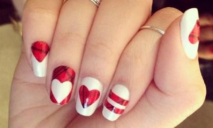 Diseño de Uñas para San Valentin 4