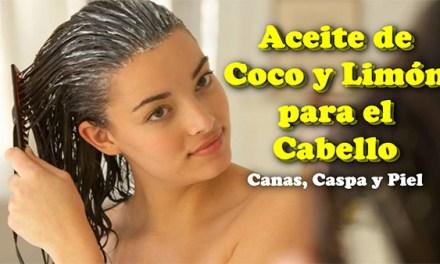 Aceite De Coco y Limón para el Cabello – Te Ayudara A Tener De Nuevo Tu Cabello Con su Color Natural